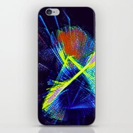 Triangular Explosion iPhone Skin