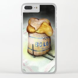 Bolo de Arroz - The Loner Clear iPhone Case