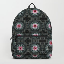 Artistic fractal fantasy flower and petals Backpack