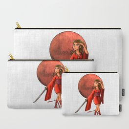 Mars Princess Carry-All Pouch