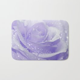Rose with Drops 085 Bath Mat