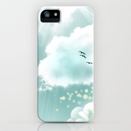 look at the sky iPhone Case