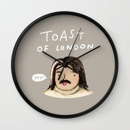 Toast of London Wall Clock