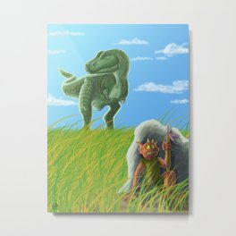 The Dragonslayer Metal Print