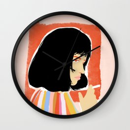 You're gonna be a lady soon Wall Clock