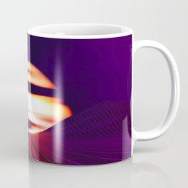 Synthwave Space #14: Twilight horizon Coffee Mug