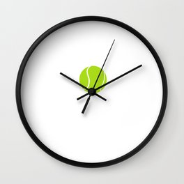 Baby Got Back Hand Tennis Ball Sports T-Shirt Wall Clock