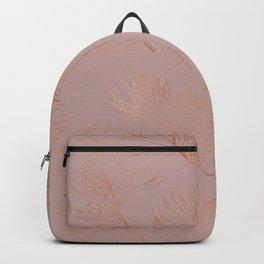 Gold leaves Backpack