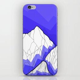 The Deep Blue Hills iPhone Skin