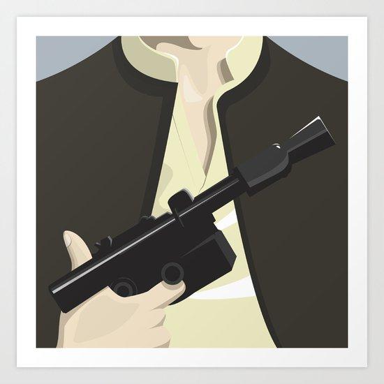 Han Solo - Starwars Art Print