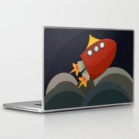rocket Laptop & iPad Skins featuring Rocket by S. Vaeth