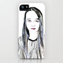 Into My Eyes iPhone Case