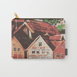 Old warf of Bergen Norway Carry-All Pouch