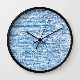 Blue Water Aqua Splash Beading Bouy Wall Clock