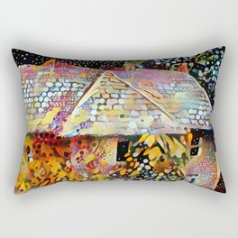Old house in Bourton on the Water Rectangular Pillow