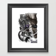 BounD Issue #2 Cover (small logo) Framed Art Print