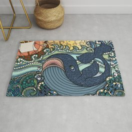 'Jonah and the Whale' Rug
