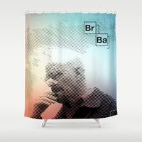breaking bad Shower Curtains featuring Breaking Bad by Crazy Thoom