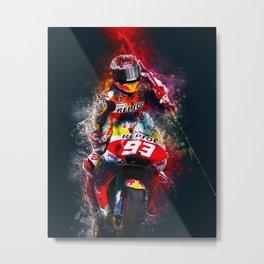 MotoGP Marc Metal Print