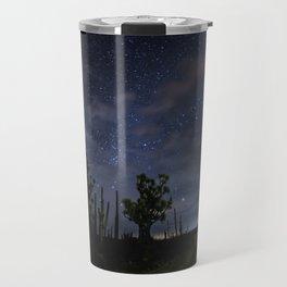 Stars over the desert Travel Mug