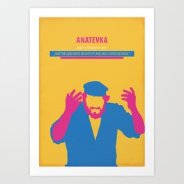 Anatevka Art Print