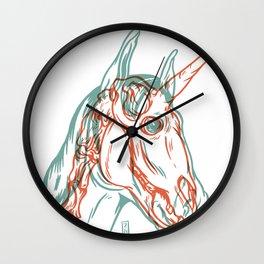 Unicorn Xray Wall Clock