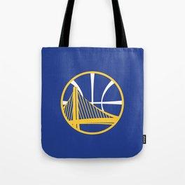 Warriors Logo Tote Bag