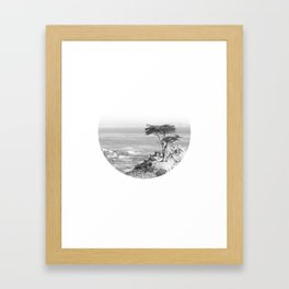 Lone Tree Feeling Framed Art Print