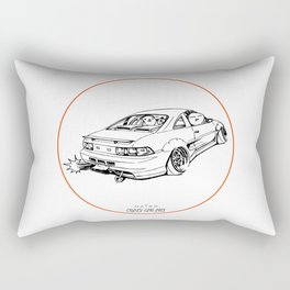 Crazy Car Art 0205 Rectangular Pillow
