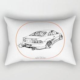 Crazy Car Art 0205 Rectangular Pillow