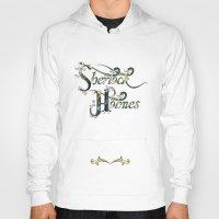 sherlock holmes Hoodies featuring Sherlock Holmes by Ketina