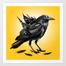 The Death Rattle Art Print