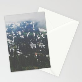Mount Rainier in July Stationery Cards