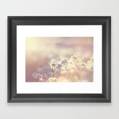 In a blur Framed Art Print