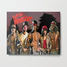 The Warriors Metal Print