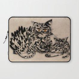 3 cats esoflowizm art Laptop Sleeve