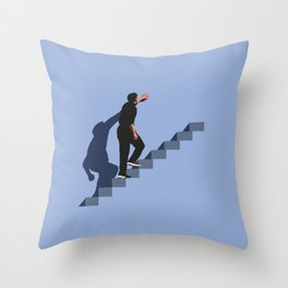 How's it going to end ? Throw Pillow