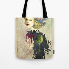 retro woman Tote Bag