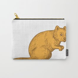Quokka Drawing Color Carry-All Pouch