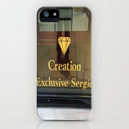 An Exclusive Sergio Creation iPhone Case