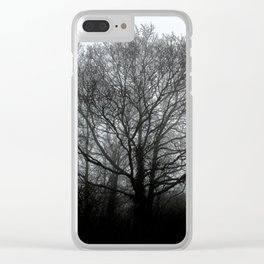 The trees of the mind are black. ' Clear iPhone Case