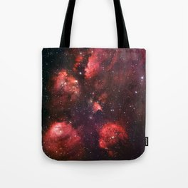 The Cat's Paw Nebula Tote Bag