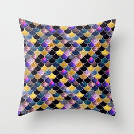 Space Scallops Throw Pillow