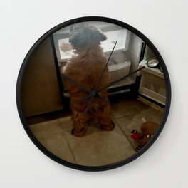 Squeaky, I found our snacks! Wall Clock