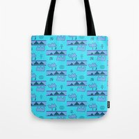 egypt Tote Bags featuring Egypt by FarrellArt
