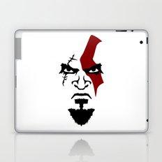 Kratos Face Laptop & iPad Skin