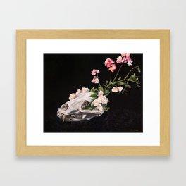 Carnivora Floret Framed Art Print
