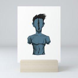 Broken v3 Mini Art Print