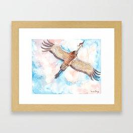 Test Flight Framed Art Print
