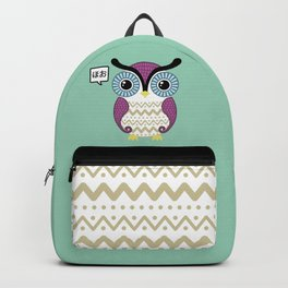 Cute owl Backpack